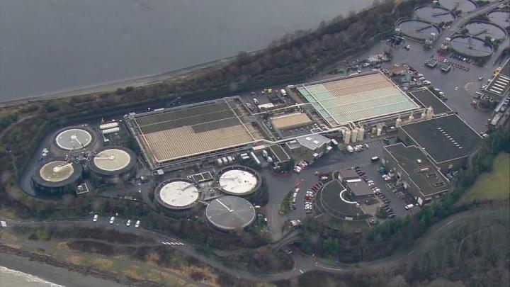 King County Wastewater Treatment Plant
